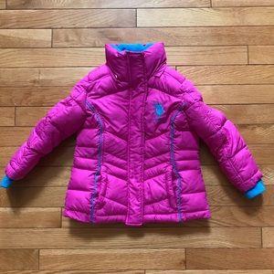 💕4T USPA pink cute coat!